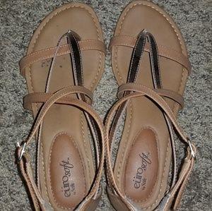 475d6a43a007 Sofft Shoes - Euro Soft Melba Wedge Sandal
